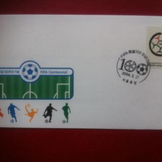футбол 2004 100 лет ФИФА Корея КПД**