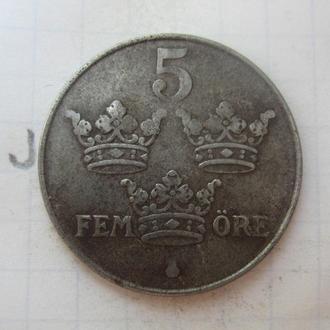 ШВЕЦИЯ. 2 эре 1948 года.