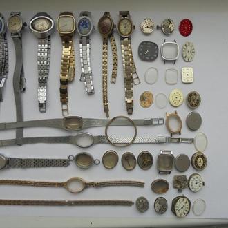 Часы женские (43 штуки). Цена за всё!!! (№34)