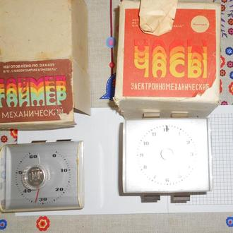 Набор часов и таймера для кухоной мебели