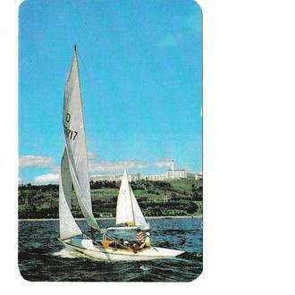 Календарик 1979 Яхта