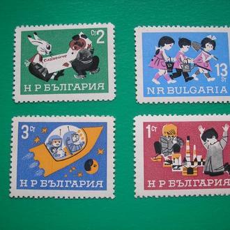 Болгария 1966 Дети  MNH  полн. сер.