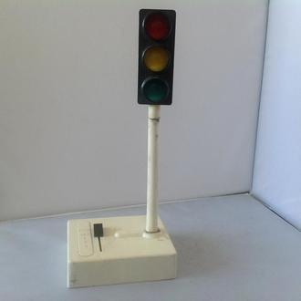 Игрушка Светофор электро сделано в СССР