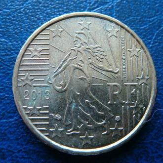 Франция 10 центов 2013