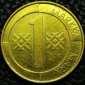 Финляндия 1 марка 1994 год СОСТОЯНИЕ!!!