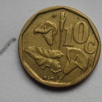 ЮАР 10 центов 1992 г.