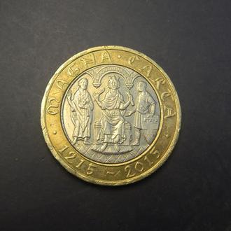 2 фунта 2015 Британія Хартія Вольностей