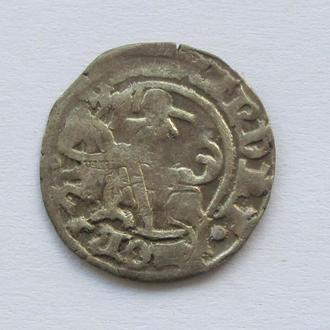 полугрош 1501-1506гг Александр Ягелончик , Литва, Вильно (А22)