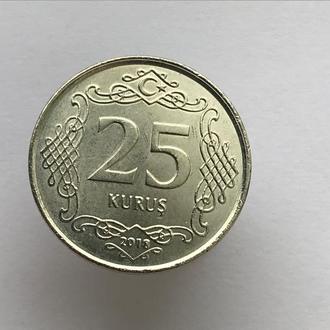 25 куруш Турция 2018 год