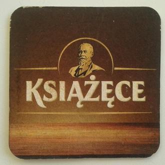 Подставка, бирдекель, костер, пиво, бокал, Польша.