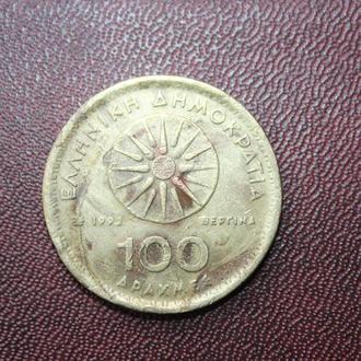 Греция, 100 драхм, 1992г.