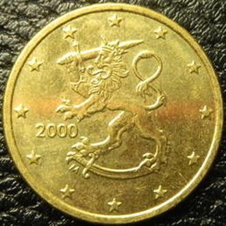 50 євроцентів 2000 Фінляндія