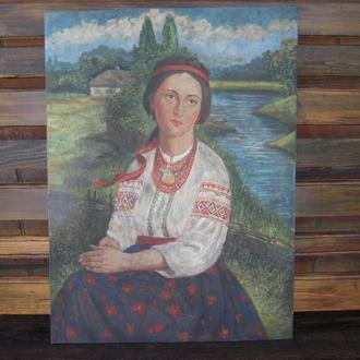 Картина Украинка