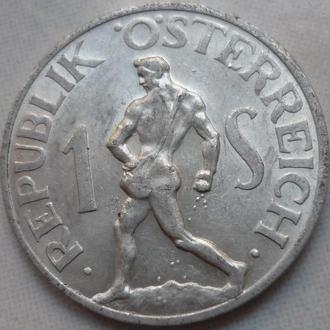 Австрия 1 шиллинг 1952 состояние