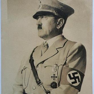 Открытка, Третий Рейх, Адольф Гитлер, листівка, почтовая карточка, поштова картка