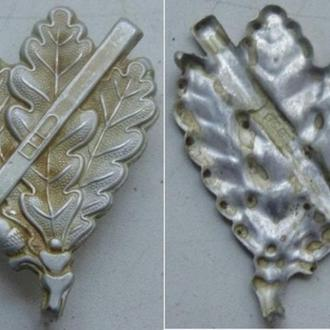 Эмблема егеря-лыжника ,горнострелковых частей, для ношения на головном уборе (копия)