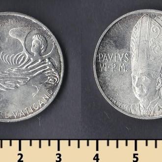 Ватикан 500 лир 1969