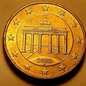 10 евро центов 2003 года - J, Германия - а