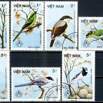 Вьетнам. Птицы Швеции. Филвыставка (серия) 1986 г.