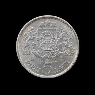 5 Лат 1932,(27) Латвия