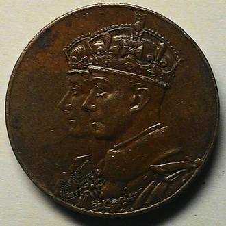 Англия медаль 1939 год