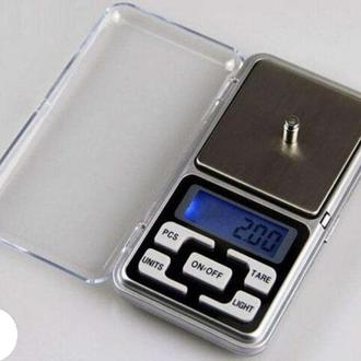 Ваги ювелірні Весы ювелирные 200/0,01 НОВІ + батарейки в подарунок