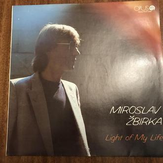 LP Miroslav Žbirka  Light Of My Life Чехословакия