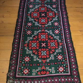 старовинний вишитий килим ковер (№650)