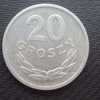 Польша 20 грошей. 1969г.