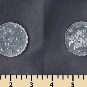Хорватия 1 липа 1993