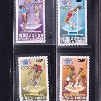 ЛОИ . Камерун 1984 г MNH - США