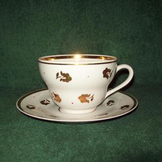 Чашка большая чайная пара СССР Кремгэс