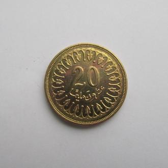 20 миллимов Тунис 2011