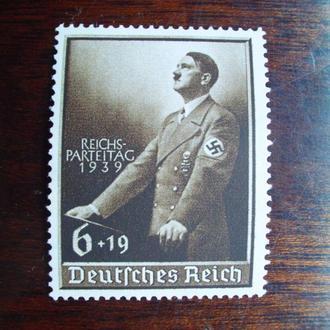 3-ий Рейх.1939г. А.Гитлер. Надпечатка! Полная серия. MNH