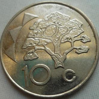 Намибия 10 центов 1998
