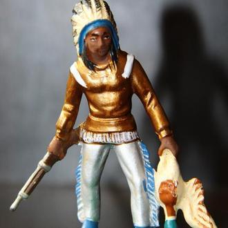 индейцы ковбои ГДР( №018) незаводская покраска