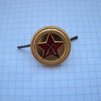 Кокарда ВОХР, СССР.