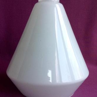 Плафон для торшера и бра Конус. Двойное белое молочное стекло.