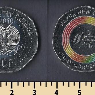ПАПУА-НОВАЯ ГВИНЕЯ 50 ТОА 2018