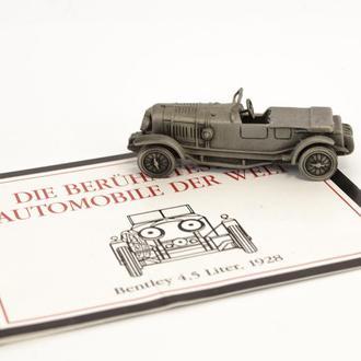 Модель автомобиля, Bentley, миниатюра, олово, Franklin Mint, Малайзия  0011