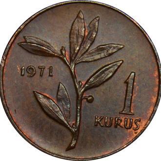 Туреччина 1 kurus 1971    А253