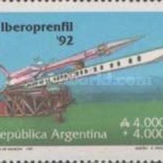 Аргентина 1991 филвыставка
