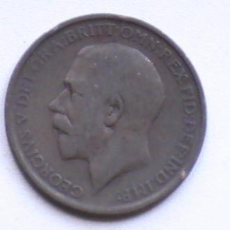 1 Пенни 1911 г Великобритания 1 Пенні 1911 р Великобританія