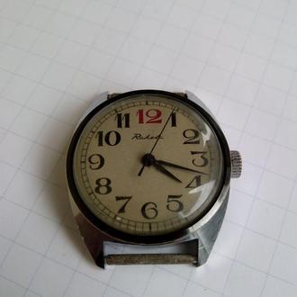 часы Ракета красная 12