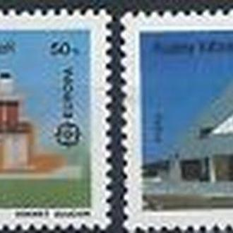 Кипр тур. 1987 EUROPA CEPT Архитектура