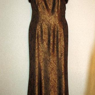 Винтажное вечернее платье vera mont  70 годы Франция