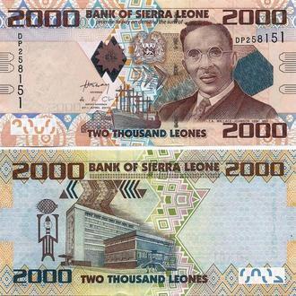 Сьера Леоне 2000 леонес 2010 UNC