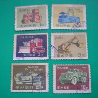 Корея 1959 Машиностроение-редкая