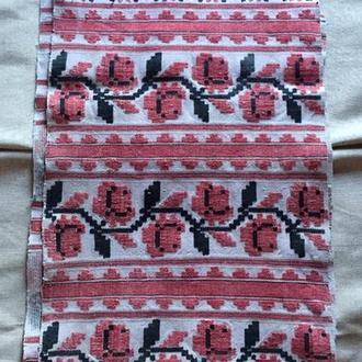 Старинный кролевецкий рушник. 5м 10см х 44 см