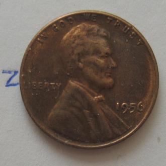 США, 1 цент 1956 год.